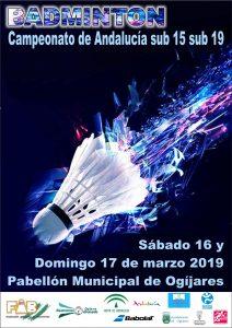 Campeonatos de Andalucía Sub-15 y Sub-19
