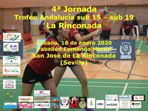 Trofeo Andalucía Sub-15 y Sub-19 - 4ª jornada