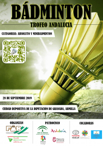 Trofeo Andalucía Absoluto y Minibádminton - 1ª jornada