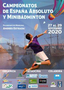 Campeonatos de España Absoluto y Minibádminton