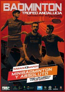 Trofeo Andalucía Absoluto y Minibádminton - 2º Jornada