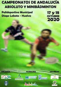 Campeonatos de Andalucía de Minibádminton - NUEVA FECHA