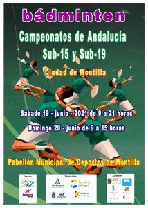 Campeonatos de Andalucía Sub-15 - NUEVA FECHA