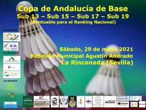 Copa Andalucía de Base Sub-13, Sub-15, Sub-17 y Sub-19 - 3º Jornada - NUEVA FECHA