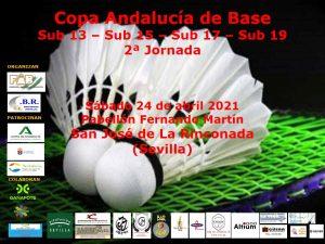 Copa Andalucía de Base Sub-13, Sub-15, Sub-17 y Sub-19 - 2º Jornada