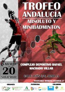 Trofeo Andalucía Absoluto y Minibádminton - 5º Jornada - NUEVA FECHA