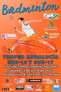 Trofeo Andalucía Sub-13 y Sub-17 - 2º Jornada - NUEVA FECHA